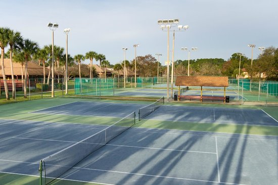 Best Western International Speedway Hotel: Tennis Courts