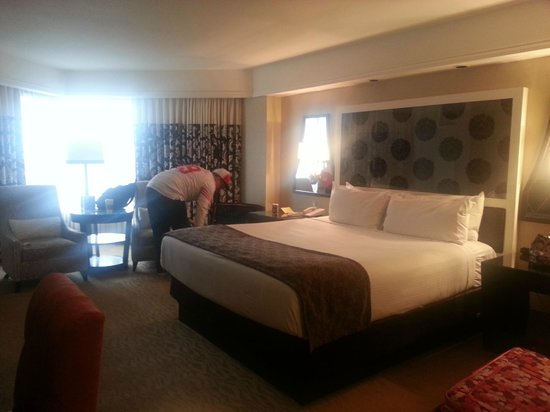 Harveys Lake Tahoe: Lux. King Amazing bed