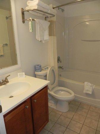 Rodeway Inn Niagara Falls: Bathroom