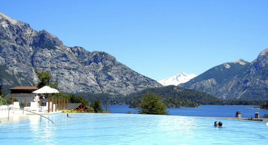 Llao Llao Hotel and Resort Golf Spa: Relaxing Poolside
