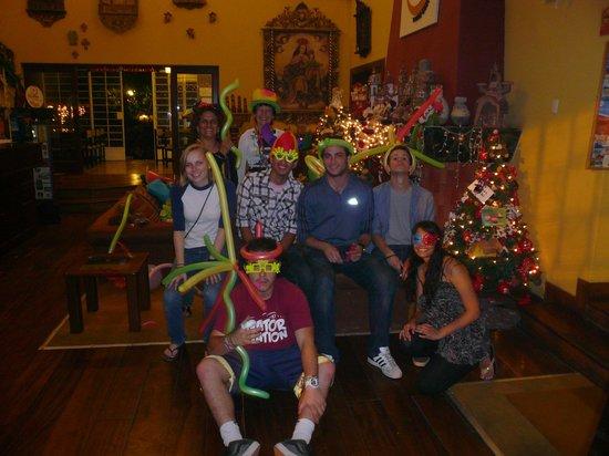 Youth Hostel - Hostelling Internatinal Lima - Peru : fiesta de año nuevo
