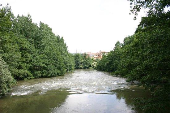 Centro de Turismo Rural La Coruja del Ebro: Rio Ebro.