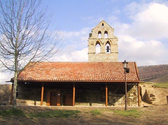 Centro de Turismo Rural La Coruja del Ebro: Santa María de Valverde. rupestre