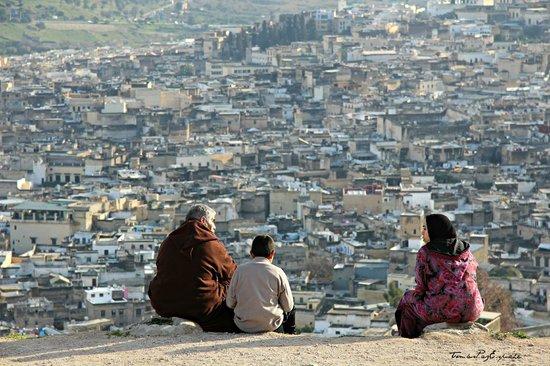 Contemplando la medina desde Tombe dei Merenidi