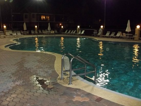 Westgate Vacation Villas Resort & Spa:                   Warm, well lit pool