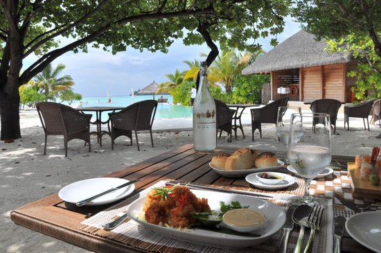 COMO Cocoa Island: Lunch time