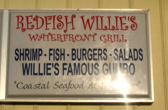 Redfish Willies Waterfront Grill