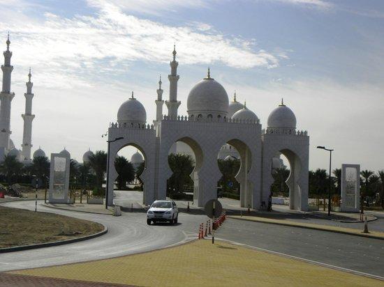 Scheich-Zayid-Moschee: Ingresso Moschea