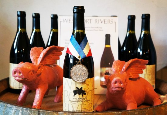 Westport Rivers Vineyard & Winery :                   Pinot Noir