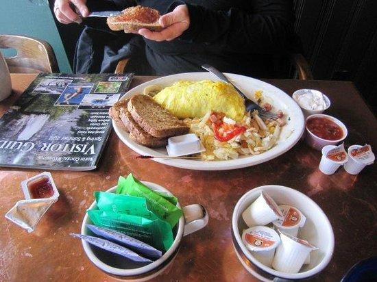 BC Macdonald's:                   Omelette