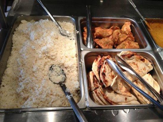 New Delhi: Basmati rice, naan, samosas