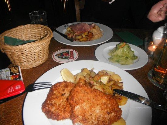 Fried Battered Pork Picture Of Schwarzwaldstuben Berlin Tripadvisor