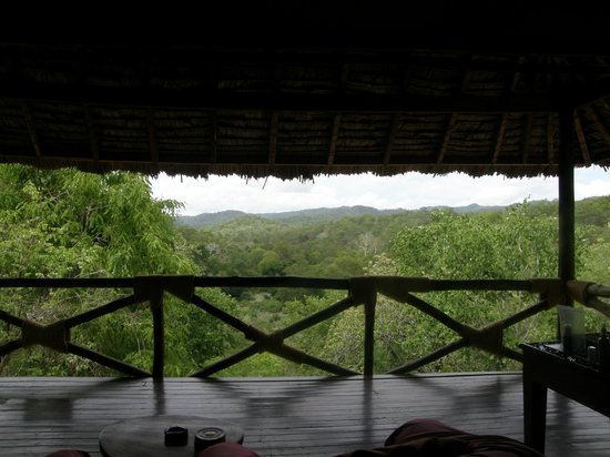 Sable Mountain Lodge:                   View from Honeymoon Room 9