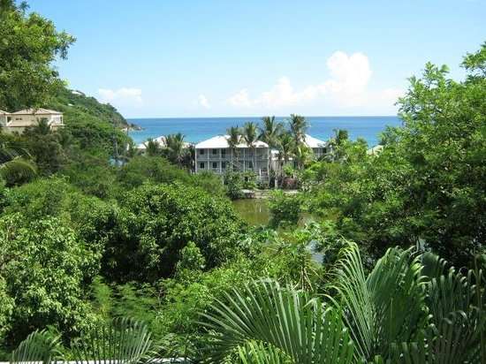Aqua Bay Villas: Aqua Bay Villa's Southern view