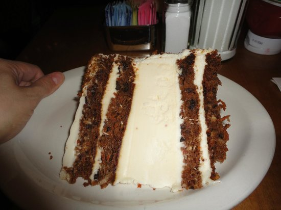 Carrot Cake Cheesecake Picture Of Junior S New York City