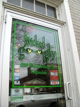 The Wicked Googly:                   Wicked Googly door
