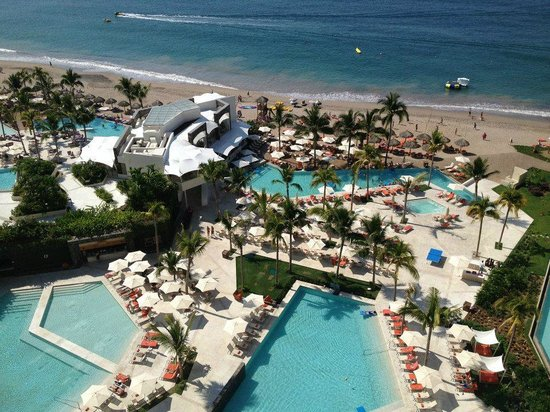 Now Amber Puerto Vallarta:                   From from our room (11th floor)