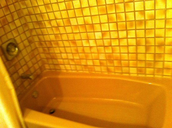 Best Western Plus Hacienda Hotel Old Town:                   Brown bathtub