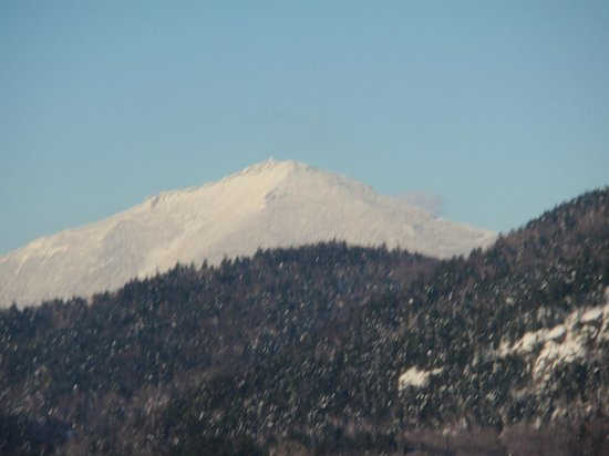 Mountain View Inn:                   View of Whiteface Mt. from downtown Lake Placid!