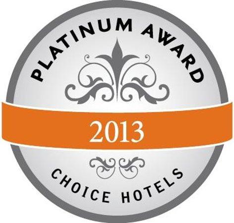 Clarion Suites: 2013 Platinum Award