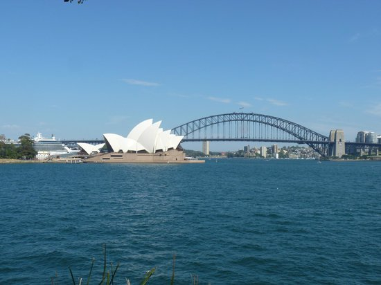 Shangri-La Hotel Sydney: Vista de Opera House