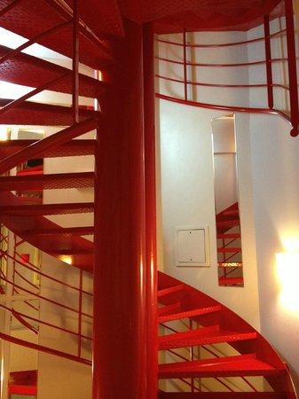 Hotel Joyce - Astotel:                   staircase 2