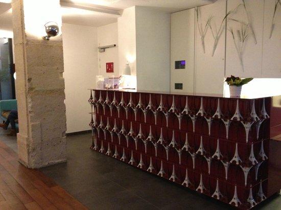Hotel Joyce - Astotel:                   front desk                 