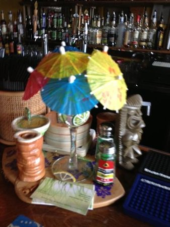 Charlie's Chowder House:                   tropical drinks! :)