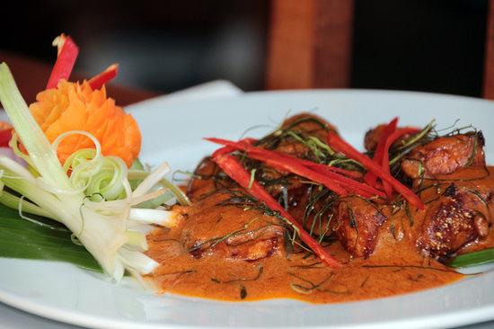 Thai Cuisine: Panang Salmon