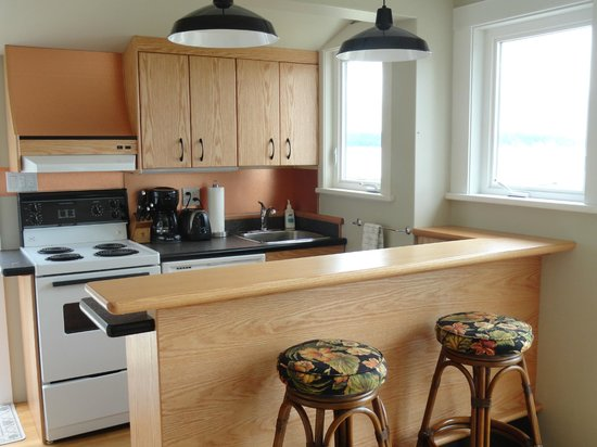Seaside Cottage:                   Another picture of the awesome new kitchen