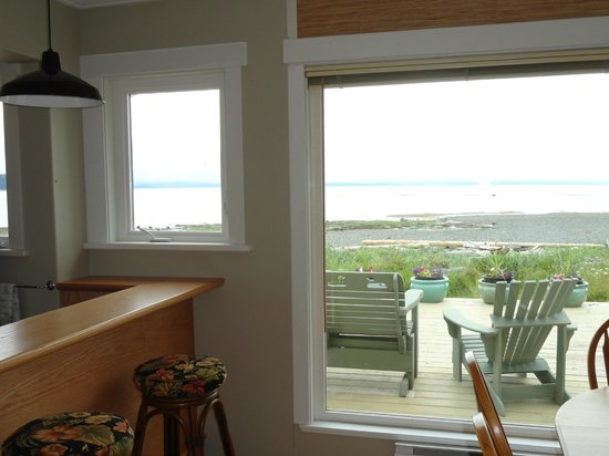 Seaside Cottage:                   Great views from every window