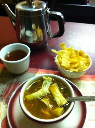 Chow's Kitchen:                   hot soup