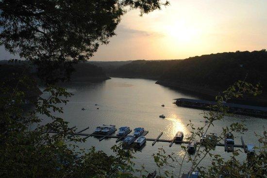 Lake Cumberland State Resort:                   View