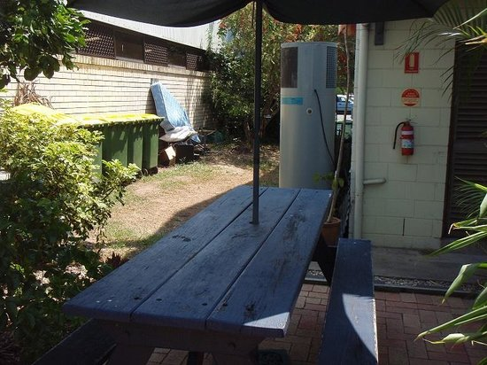 Coolangatta / Kirra Beach YHA:                                     The view from outdoor seating area
