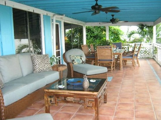 Aqua Bay Villas: Relax on Dolphina's Spacious Veranda