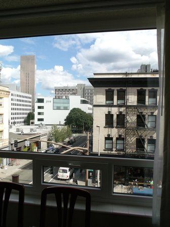 Mark Spencer Hotel:                   view from window of living room