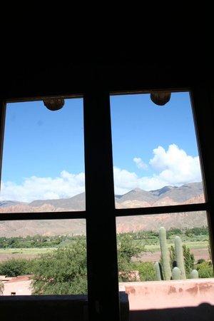 Cerro Chico: Vista desde otra puerta-balcón de la cabaña N°5