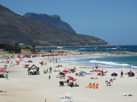 Clifton Beaches: Cliffton Beach, Cape Town, South Africa.