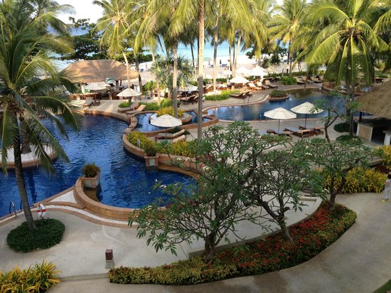 Katathani Phuket Beach Resort : view from our room