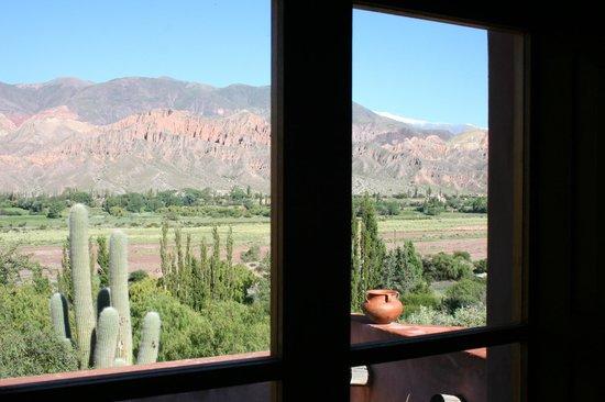 Cerro Chico: Vista desde la ventana-balcon de la cabaña N°5