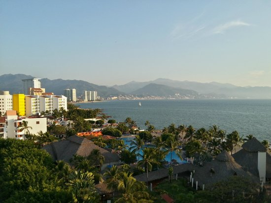 Melia Vacation Club Puerto Vallarta:                   vista desde la habitacion 1907