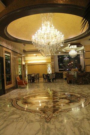 Sharjah Palace Hotel: lobby