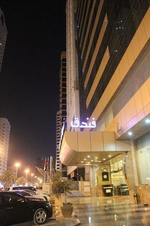Sharjah Palace Hotel: hotel entrance