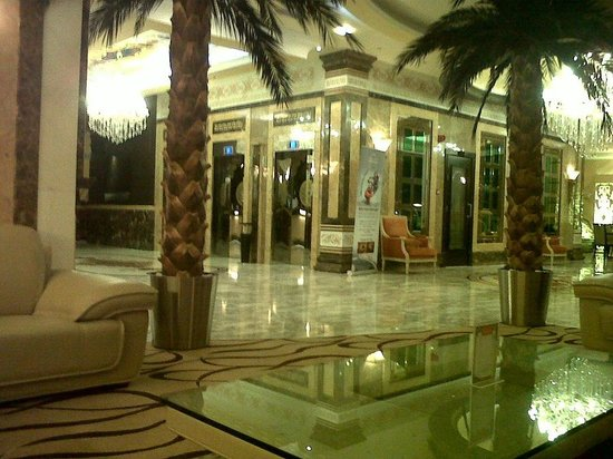 Sharjah Palace Hotel : lobby with free wifi