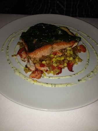 Red, The Steakhouse: Wild Salmon of the day