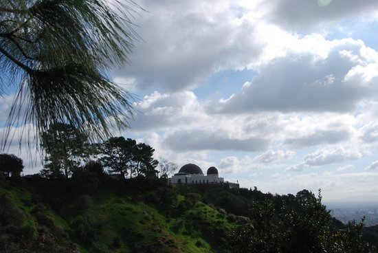 Griffith Park: observatory from down the hill