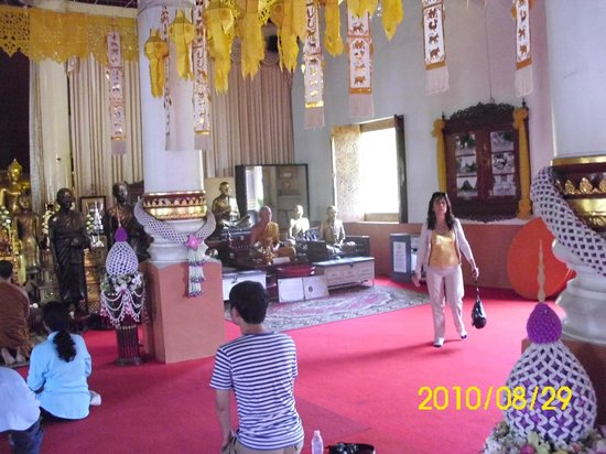 Wat Phra Singh: La figura de cera?