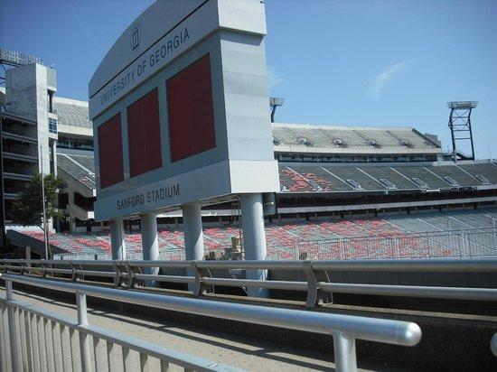 Front Sanford Stadium
