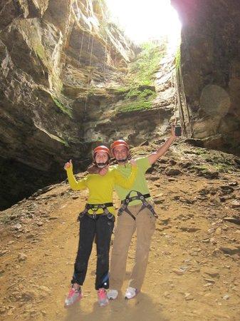 Renacer Hostal:                                     Cave Reppelling