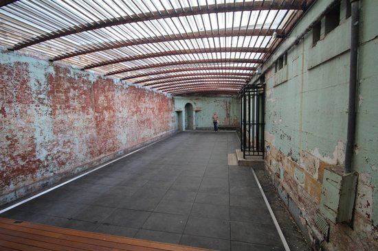 Newcastle, Australie :                   Exercise Yard